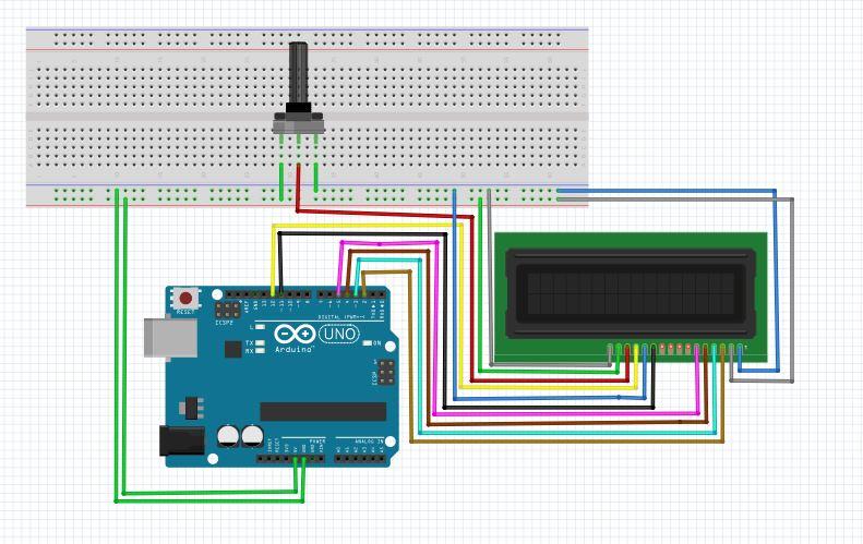 LCD ekran arduino bağlantısı