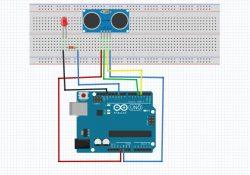ultrasonik sensör,Arduino